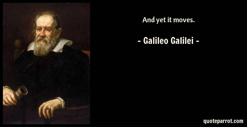 the ideas and theories introduced by galileo galilei Galileo galilei helped usher in the age of galileo introduced a thought experiment in his einstein refined galileo's ideas with his theory of special.