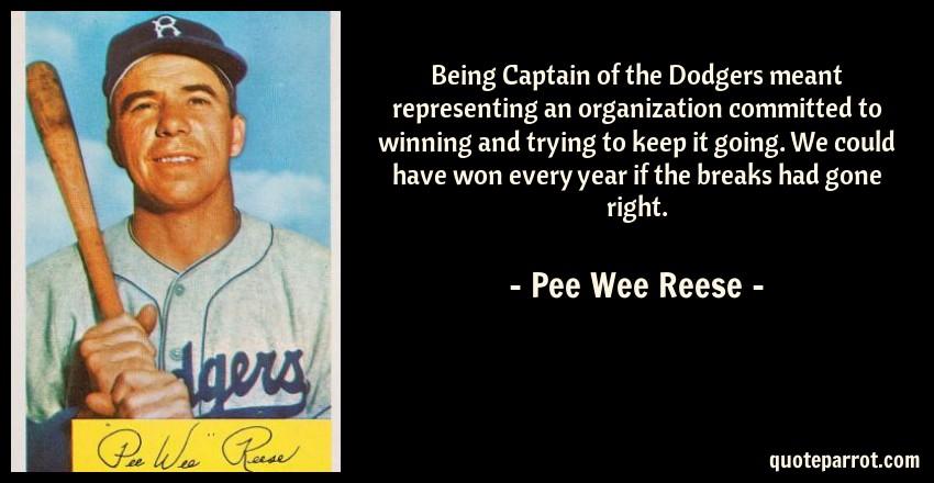 a831ffaf5 Being Captain of the Dodgers meant representing an orga... by Pee ...