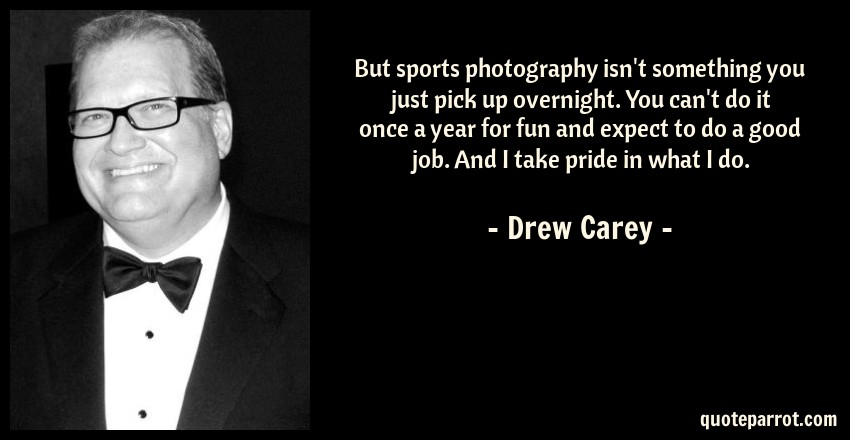 But Sports Photography Isn't Something You Just Pick Up