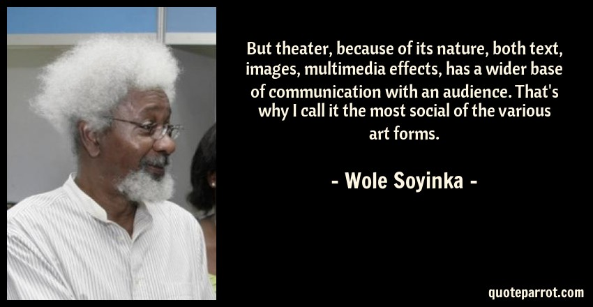 why do i fast by wole soyinka purpose