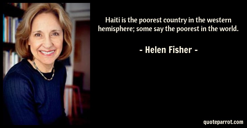 Haiti Is The Poorest Country In The Western Hemisphere By - Is haiti the poorest country in the world