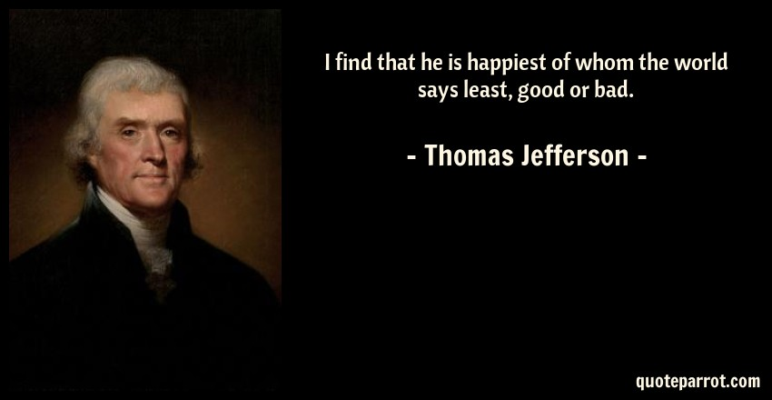 thomas jefferson good or bad