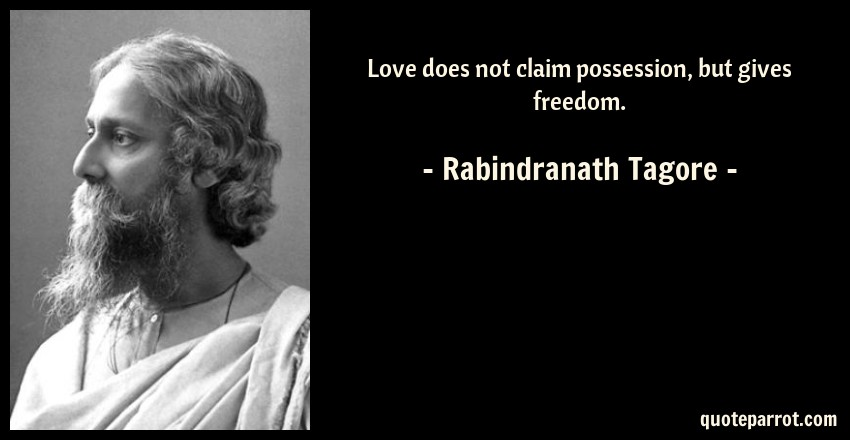 freedom by rabindranath tagore