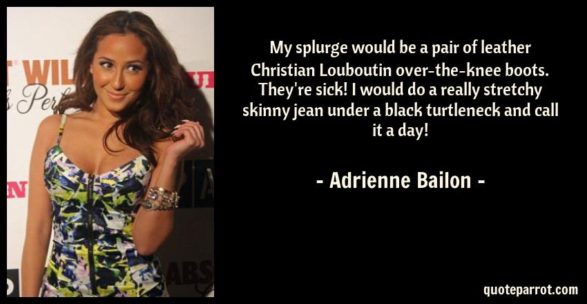 Seems adrienne bailon in boots opinion you