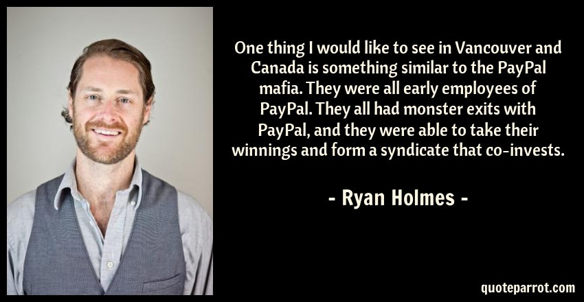 one thing i would like to see in vancouver and canada i by ryan