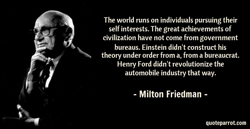 the influence and achievements of top world economist milton friedman Friedman was an important member of the team during world war ii  achievements of postwar economics, friedman not  milton - economist milton friedman .