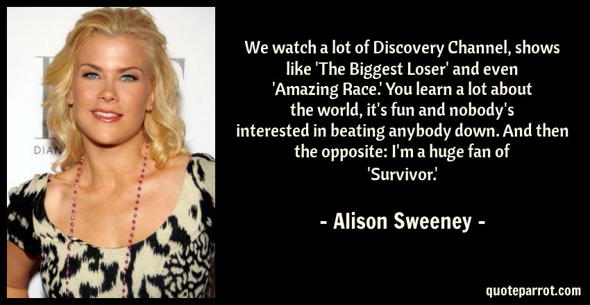Discovery Channel Shows >> We Watch A Lot Of Discovery Channel Shows Like The Bi By Alison