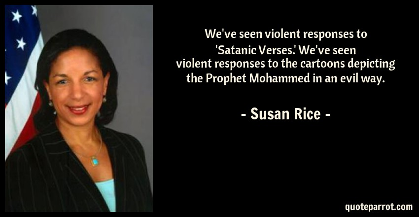 Weve Seen Violent Responses To Satanic Verses By Susan