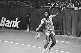 Picture of quotation author Arthur Ashe