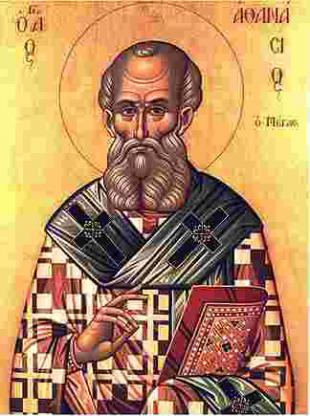 Picture of quotation author Athanasius