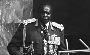 Picture of quotation author Idi Amin