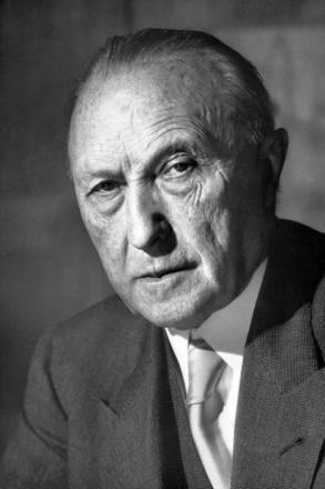 Picture of quotation author Konrad Adenauer