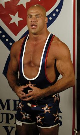 Picture of quotation author Kurt Angle