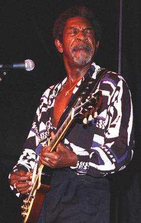 Picture of quotation author Luther Allison