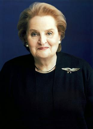 Picture of quotation author Madeleine Albright