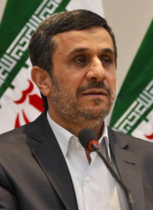 Picture of quotation author Mahmoud Ahmadinejad