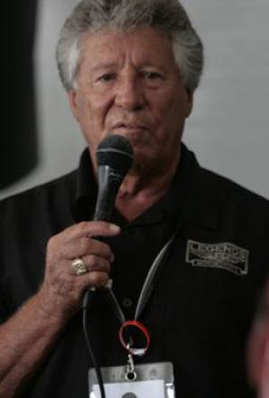 Picture of quotation author Mario Andretti
