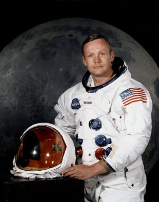 Picture of quotation author Neil Armstrong