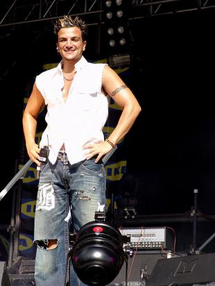 Picture of quotation author Peter Andre