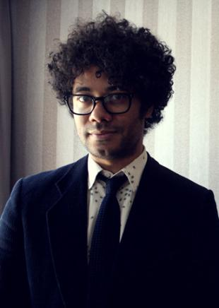 Picture of quotation author Richard Ayoade