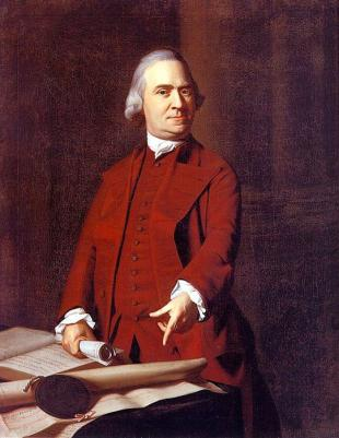 Picture of quotation author Samuel Adams