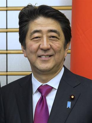 Picture of quotation author Shinzo Abe