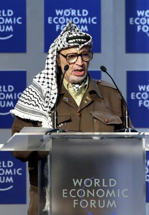 Picture of quotation author Yasser Arafat