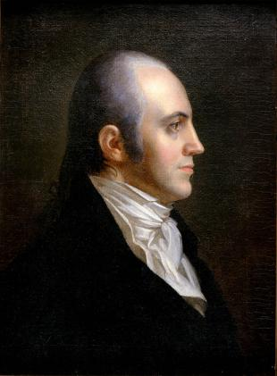 Picture of quotation author Aaron Burr