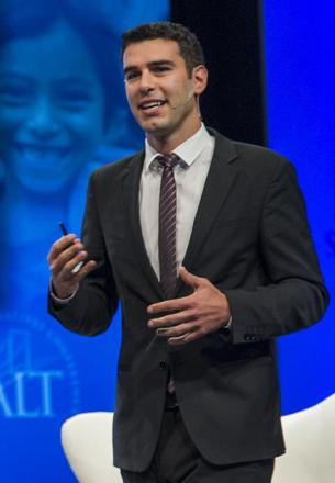 Picture of quotation author Adam Braun