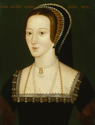 Picture of quotation author Anne Boleyn