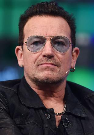 Picture of quotation author Bono