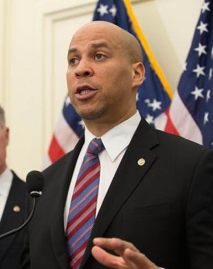 Picture of quotation author Cory Booker