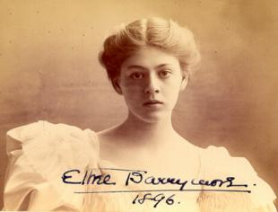 Picture of quotation author Ethel Barrymore