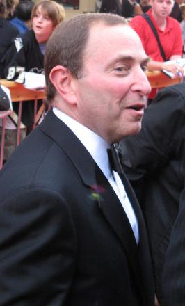 Picture of quotation author Gary Bettman