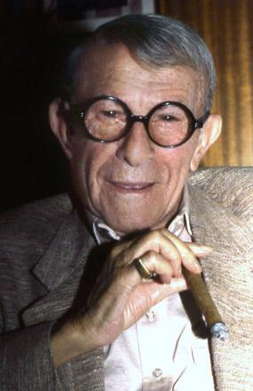 Picture of quotation author George Burns