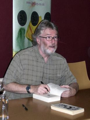 Picture of quotation author Iain Banks