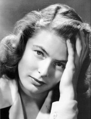 Picture of quotation author Ingrid Bergman