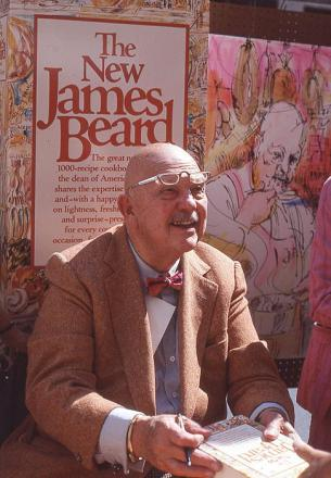 Picture of quotation author James Beard