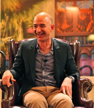 Picture of quotation author Jeff Bezos