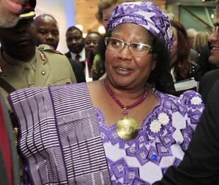 Picture of quotation author Joyce Banda