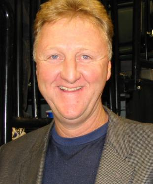 Picture of quotation author Larry Bird