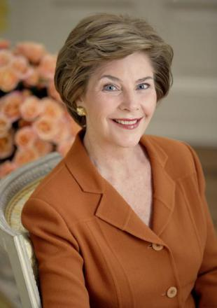 Picture of quotation author Laura Bush
