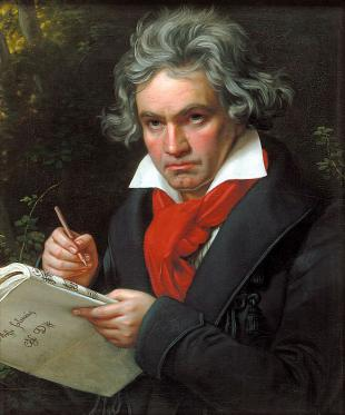Picture of quotation author Ludwig van Beethoven
