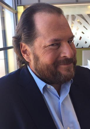 Picture of quotation author Marc Benioff