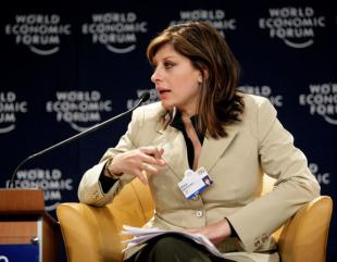 Picture of quotation author Maria Bartiromo