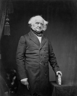 Picture of quotation author Martin Van Buren