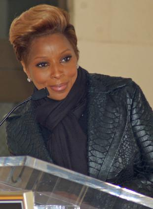 Picture of quotation author Mary J. Blige