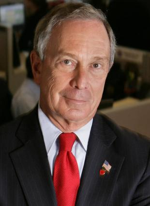 Picture of quotation author Michael Bloomberg