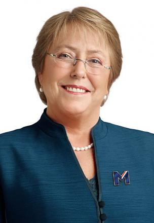 Picture of quotation author Michelle Bachelet