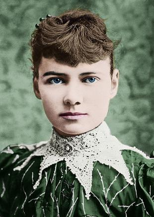 Picture of quotation author Nellie Bly